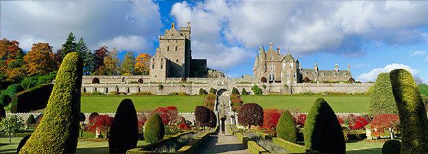 Gardens at Drummond Castle