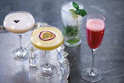 The cocktail range at the slug and lettuce in Edinburgh