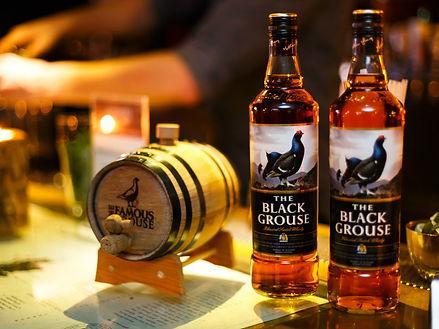 The Black Grouse bottles