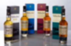 The Tullibardine Range of malts