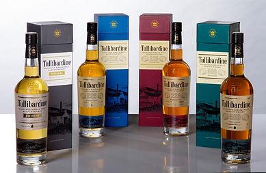The Tullibardine Range of malts