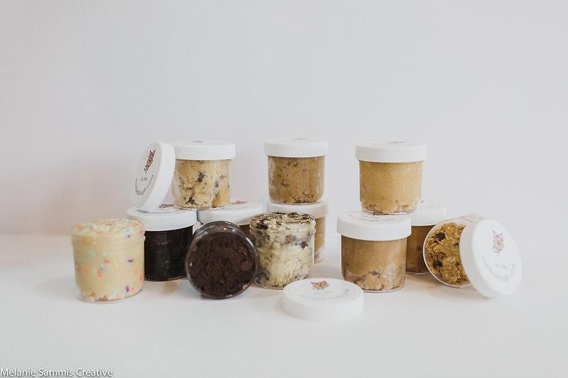 cookie dough flight sampler pack