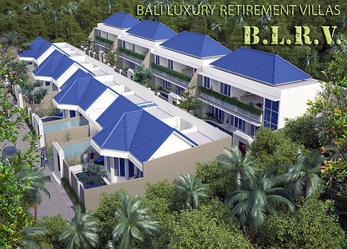 Bali Luxury Retirement Villas Aerial Eas