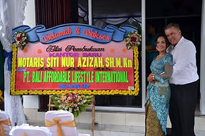 Bali News -New Office Notaris Azizah Bel