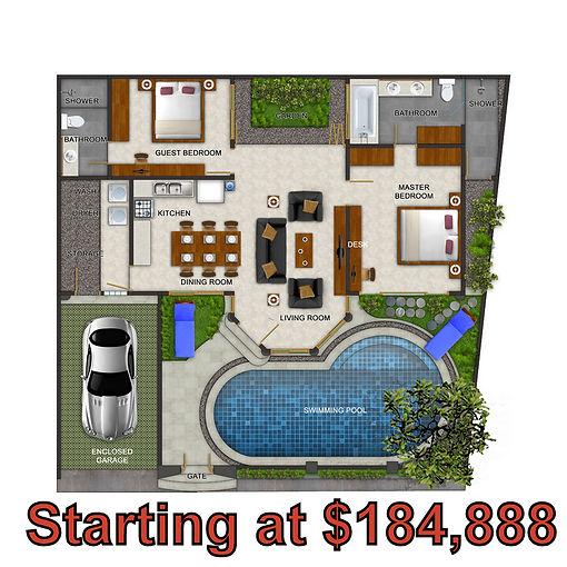 Bali Luxury Retirement Villas A4 Floor P