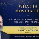 Week 4, Rabbi Yossi Jacobson, Classic Shiur, Sicha 3, Part 1