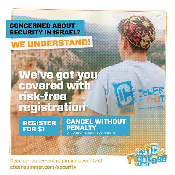 CTeen summer Security situation banner (
