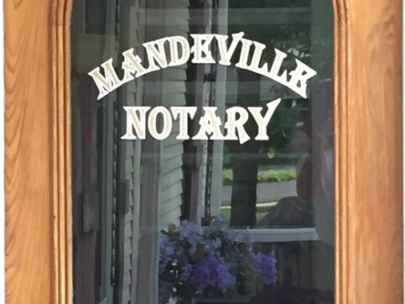 Mandeville Notary