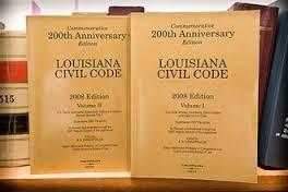 The lingo of Louisiana law
