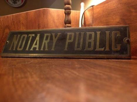 Public Notary in Mandeville (985) 727 9692