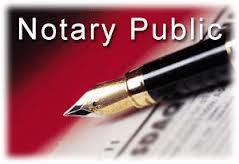 Why do documents need to be notarized?