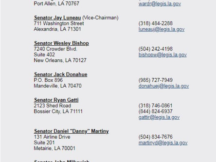 LNA MEMBERSHIP CALL TO ACTION - Critical Hearing Tuesday April 3rd at the Capitol
