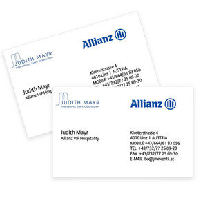 Allianz Visitenkarte