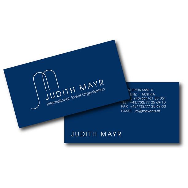 Judith Mayr Visitenkarte