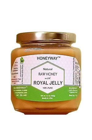 Royal Jelly Honey 12oz 4bottles