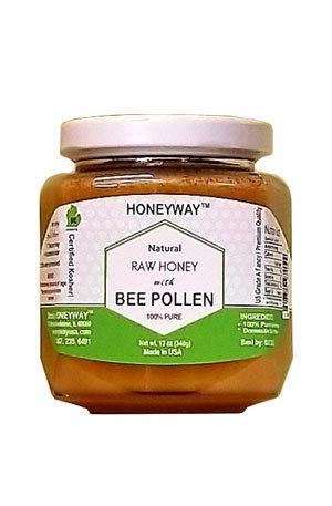 Bee Pollen Raw Honey