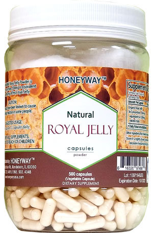 Royal Jelly Capsule 1000mg 4Bottles