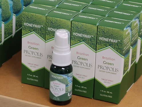 Brazilian Green propolis Throat 1oz(30ml) 4 bottles