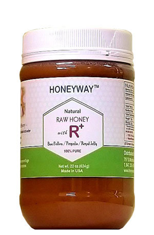 R+ Honey 22oz(12 bottles)