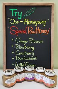 Specialty Raw Honey