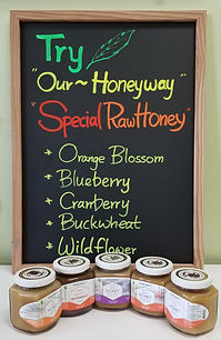 Specialty Raw Honey