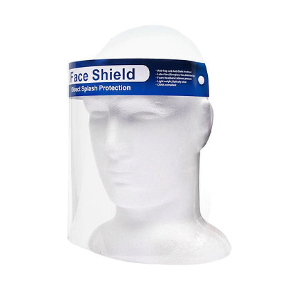 Caretas  Face Shield 20 piezas