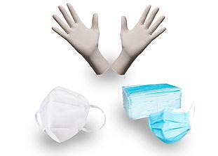 guantes y cubrebocas