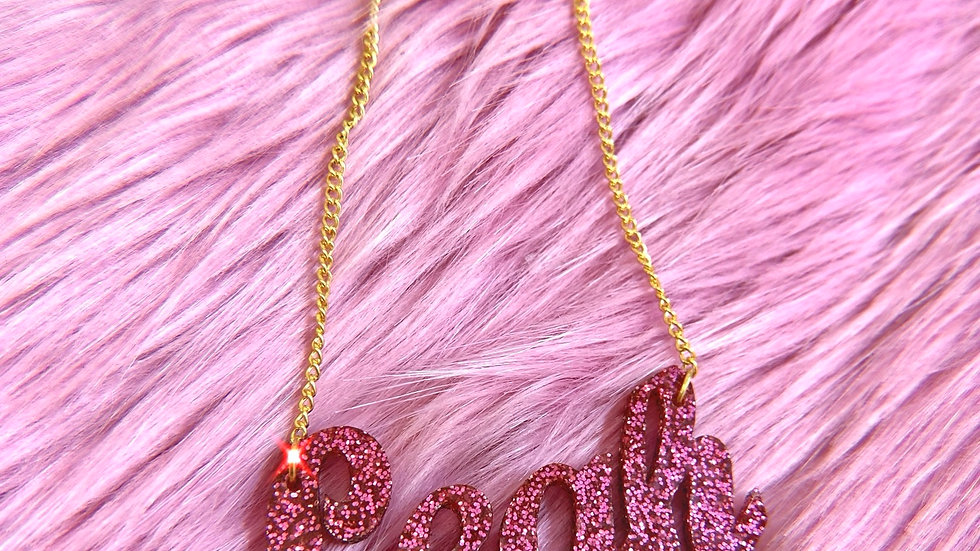 Personalised Joined Name Necklace