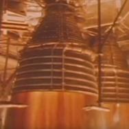 First Test of Saturn V Rocket Engines, 1965