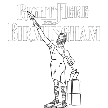 """Right Here in Birmingham"" Coloring Pages"