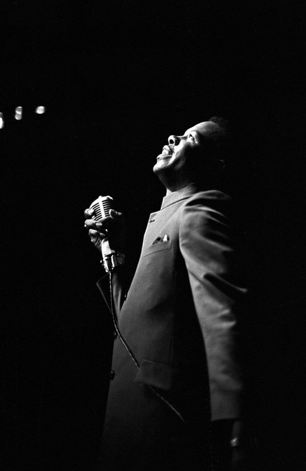 Eddie Floyd performing at the Laicos Club in Montgomery, circa 1965-1968.