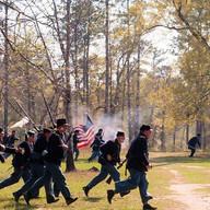 Reenactment of the Battle of Fort Blakeley
