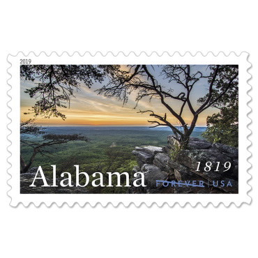 Design an Alabama Postage Stamp