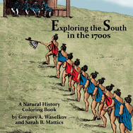 Exploring the South in the 1700s: A Natural History Coloring Book