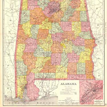 Alabama Maps