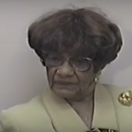 Inteview with Louphenia Thomas, First African American Woman in the Alabama Legislature