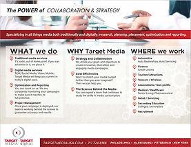 Target Media Brag Sheet Info
