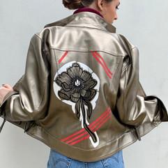Graphic Flower Jacket