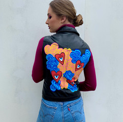 Trippy Hearts Vest