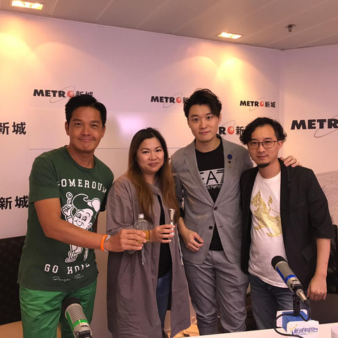 Whisky Sharing and Interview by Metro Ra