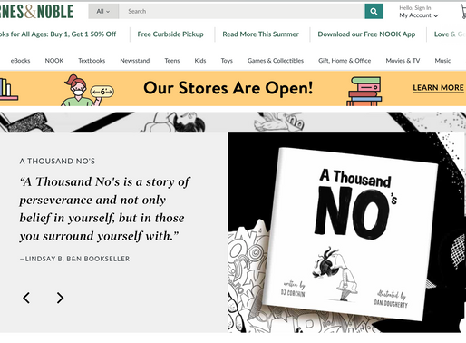 A Thousand NO's at Barnes & Noble Exclusively