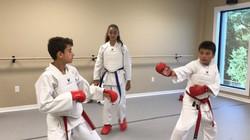 Looking better karatekas!