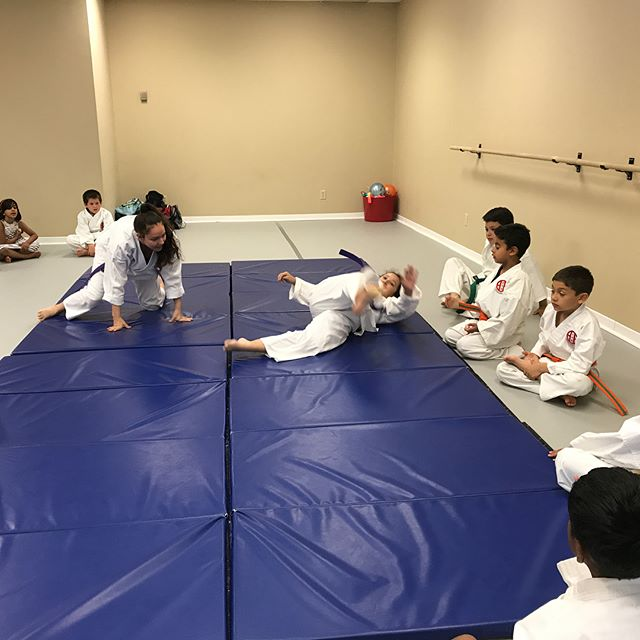 Practicing judo!!!