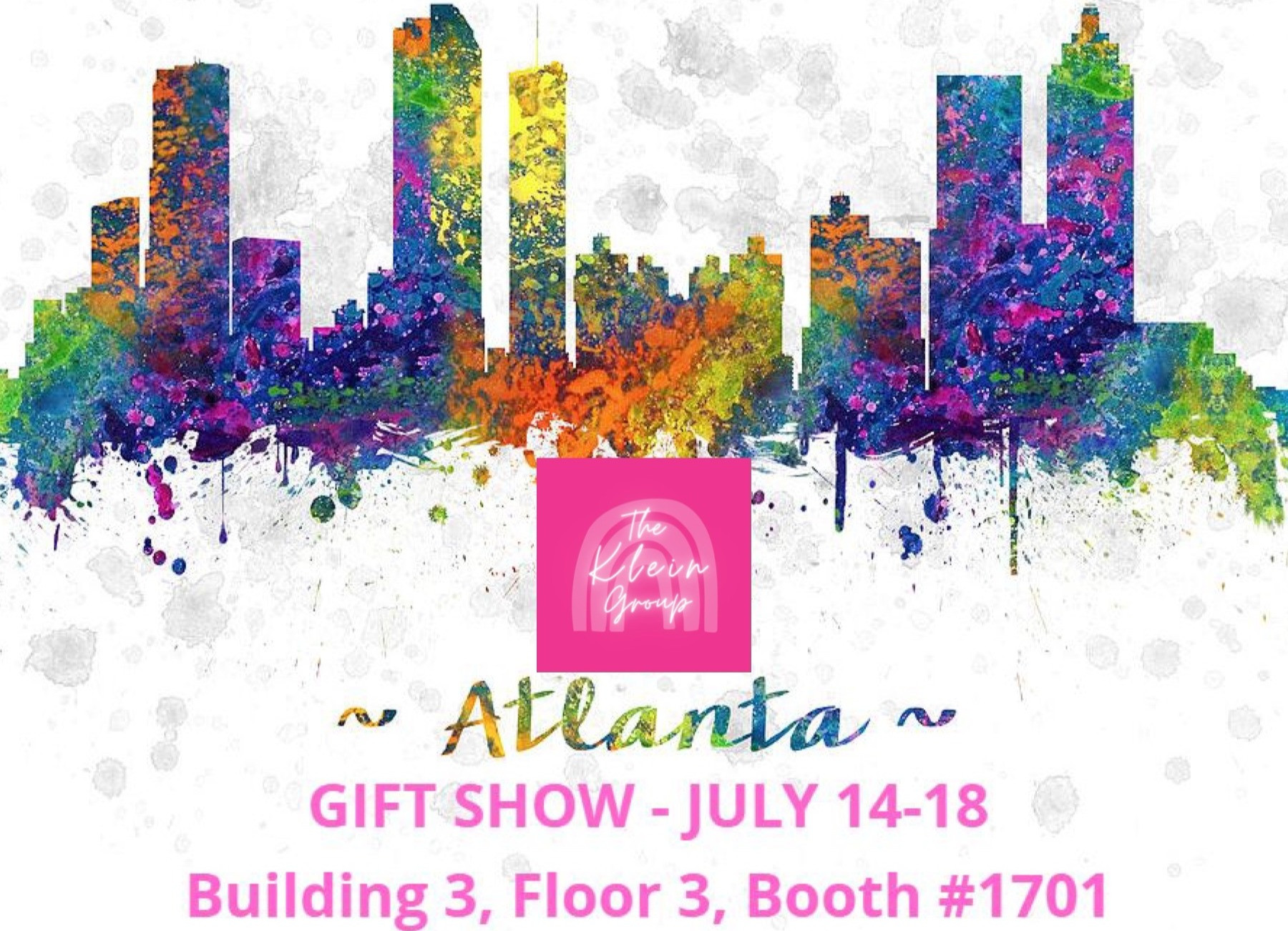 Atlanta Gift Show July 14-18 Booth #1701