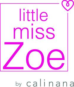 little miss zoe by calinana logo_pink