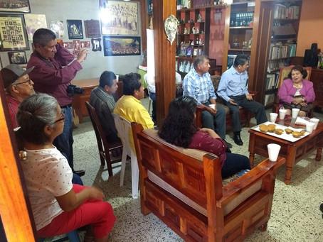 Reunión Agentes municipales Zona Papantla