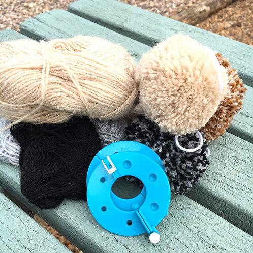Alpaca Pom Pom Making Workshop