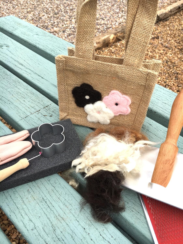 Needle Felt a Bag Workshop