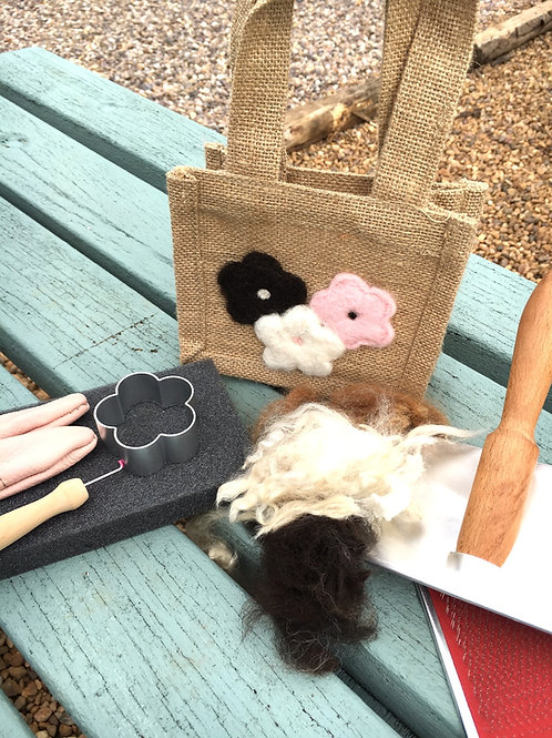 Needle Felt Aplique Bag Workshop