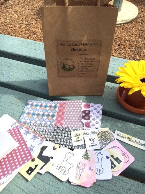 Alpaca Card Making Kit